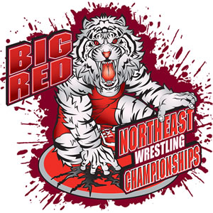 Big Red Northeast Wrestling Championships Logo